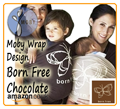 chocolate Moby Wrap Designs