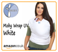 White Moby Wrap UV